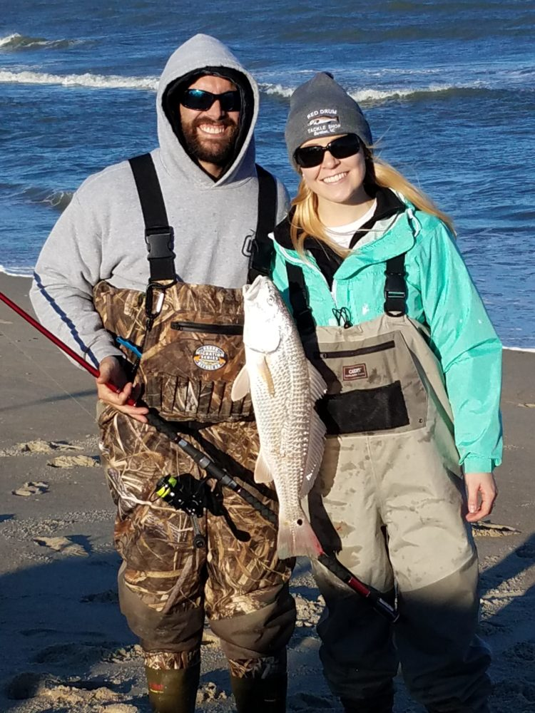 01 20 2018 saturday fishing report red drum tackle shop